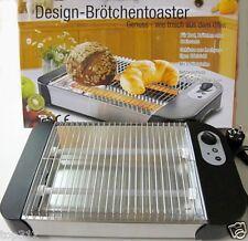 Brötchentoaster DesignToaster Brot Wärmer Flachtoaster Brötchenröster Brötchen