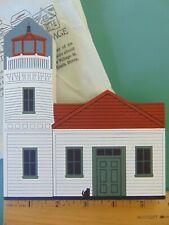 Fj Designs The Cat's Meow Village 1994 West Coast Lighthouse - Mukilteo Light