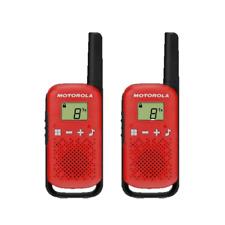 Motorola Talkabout T42 Walkie Talkie Twin Pack (Red)