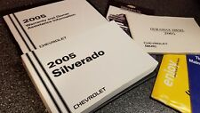 ☆☆☆ 2005 CHEVROLET SILVERADO DURAMAX DIESEL OWNERS MANUAL SET LS LT OEM ☆☆☆