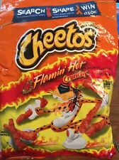Cheetos Flamin Hot Crunchy Chips