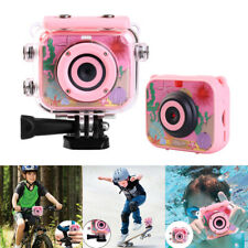 Mini Children Kids Waterproof Digital Camera Video Recorder With Mounts Gifts
