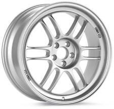 Enkei enk3795704941SP RPF1 15x7 4x100 Silver Wheel for Honda / Acura / Mini