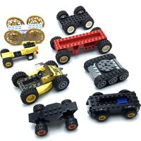 LEGO LOT OF 8 CARS INCOMPLETE SET CITY VEHICLES TOWN PARTS PIECES