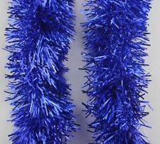 2M (6.5Ft)  Chunky Tinsel Chrismas Tree Decoration X'mas Garland 20 Colour