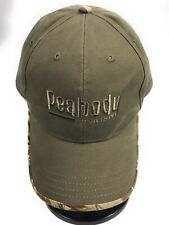 Peabody Energy Strapback Adjustable Brown Camouflage Trim Baseball Cap Hat