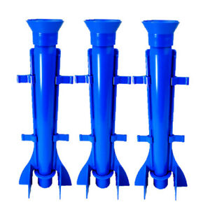 """Proops Candle Mould Long Tapered Rocket Shape, Set of 3, 9.5"""" Long. S7574"""