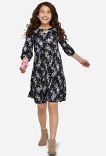 Be You Tiful NWT Girls Justice Black Sleeveless Dress