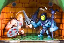 NEW SDCC COMIC CON 2013 MASTERS OF THE UNIVERSE SKELETOR Vs HE-MAN SET