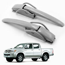 Rear Tailgate Handle Opener Locker Gray 2 Pc Fits Toyota Hilux Vigo 2005 - 2014