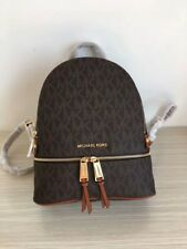 🌺Michael Kors - 100% RHEA BROWN  - Backpack Brand NEW
