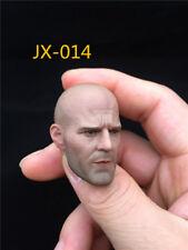 JXtoys 1:6 JX-014 Jason Statham Male Head Model Fit M33 Seamless Body