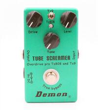 Mosky Tube Screamer 2in1 E-Gitarren Effektpedal Overdrive Distortion True Bypass