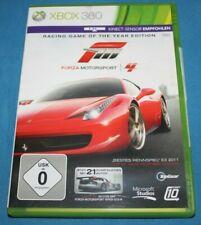 FORZA MOTORSPORT 4 XBox 360 XBOX360 Rennspiel Spiel Game TOP!!!