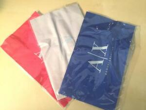 New Armani Exchange AX Cleaning Cloth Polishing Cloth - Red , Gray, or Blue