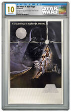 2018 Star Wars Posters New Hope Silver Foil Note Silver CGC Mint 10 ER SKU53158
