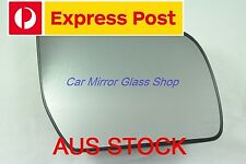 RIGHT DRIVER SIDE FORD RANGER 2012 + ONWARD MIRROR GLASS WITH BACK PLATE