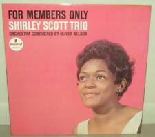 SHIRLEY SCOTT TRIO FOR MEMBERS ONLY ORIG IMPULSE LP