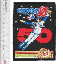 Beer Baseball Quebec Montreal Expos & Labatts 50 Beer 1988 NL Promo Patch
