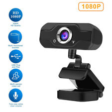 HD 1080P Webcam with Microphone USB Camera for PC/Mac Laptop/Desktop Video Call