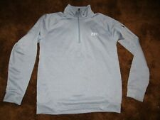 Sport Tek, men's size large, gray quarter zip fleece lined long sleeve shirt