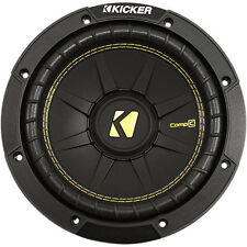 "Kicker CompC CWCD84 200W RMS 8"" Dual 4-Ohm Car Subwoofer Car Sub Woofer"