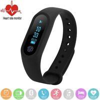 NEU M2 Smart Armband Watch Bluetooth Fitness Tracker Pulsuhr Schrittzähler Anruf