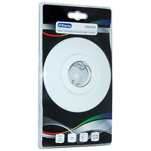 White Convertor Downlight Kit Supplied with GU10 & Low Voltage Holders