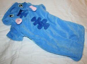 Blue Monster Halloween Dog Costume Hoodie Coat Jacket SMALL BREED Size Medium