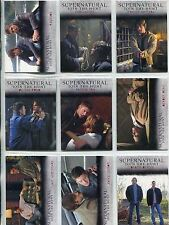 Supernatural Seasons 1-3 Complete Winchester Brothers Chase Card Set J1-J9