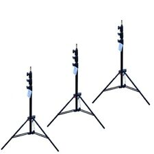 Manfrotto 1004BAC-3 3er Pack By Tripod Master AC Black Max 12ft Tripode