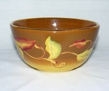 "LAURIE GATES CORONADO COLLECTION CHILI PEPPER VINE 3"" DEEP 6"" ROUND CEREAL BOWL"