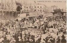 CARTE POSTALE CARNAVAL DE NICE TRAIN DE PLAISIR