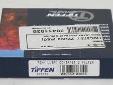 72mm - Tiffen Ultra Contrast 3 Filter NEW             #72m8n