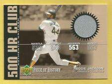180df7770 Upper Deck Reggie Jackson Piece of Authentic Baseball Cards for sale ...