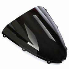 Windshield fits for Kawasaki Ninja ZX6R 636 2005-2008 & ZX10R 2006 2007 Black