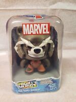 Marvel Mighty Muggs ROCKET RACCOON #8 Guardians of Galaxy 3.75in  Figure Hasbro