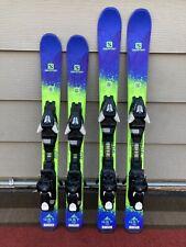 New listing Salomon Qst Max Jr Kids Skis w/ Ezy Tracks 4.5 Bindings *Great Condition*
