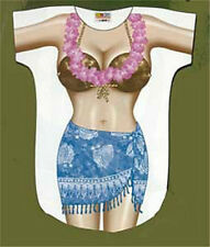 Tropical  Bikini Beach Cover Up Sexy Body T Shirt Blue Pool Sleep Funny Gift