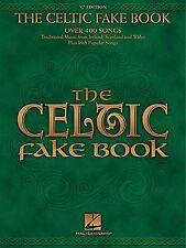 Celtic Fake Book Irish Scottish Welch Songs Play Piano Guitar Lyrics Music Book