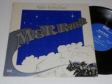 "M&R RUSH 10"" LP Private Press - CHICAGO 1980 POWER POP W/insert  Rare Obscure"