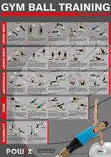 Gym Ball Workout, Level 2 , 20 new exercises, Ideal Home Workouts , Total Body
