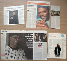 Samuel L Jackson - clippings/cuttings/articles Pack