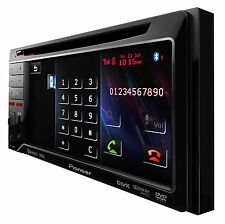 Pioneer avh-3300bt Bluetooth DivX DVD USB multimedia TFT Entertaiment Top