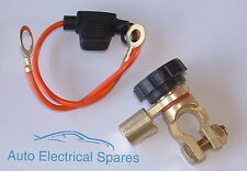 CLASSIC CAR battery isolator switch / cut off NEGATIVE angled with link
