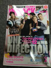 Adam Lambert 1-D 1D One Direction Japan Inrock magazine Feb.2013 rare Mint!