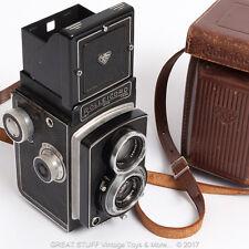 ROLLEICORD III Model K3B Vintage Camera 1952 Case 6x6 Medium Format 120 Film 3