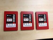 Corsair Force GT 60GB SSD Solid State Drive Kingston Samsung Intel OCZ SATA 3