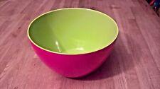 "Zak Designs Bowl 7 "" Melamine Raspberry / Green"