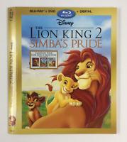 Lion King 2 Simba's Pride *Slipcover ONLY* for Blu-ray WALT DISNEY EMBOSSED